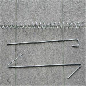 комплектующие для габиона крючки пружины